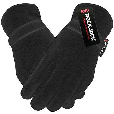 ROCKJOCK Thermal Fleece Lined Winter Gloves Outdoor Bike Cycling Sport Adult R40