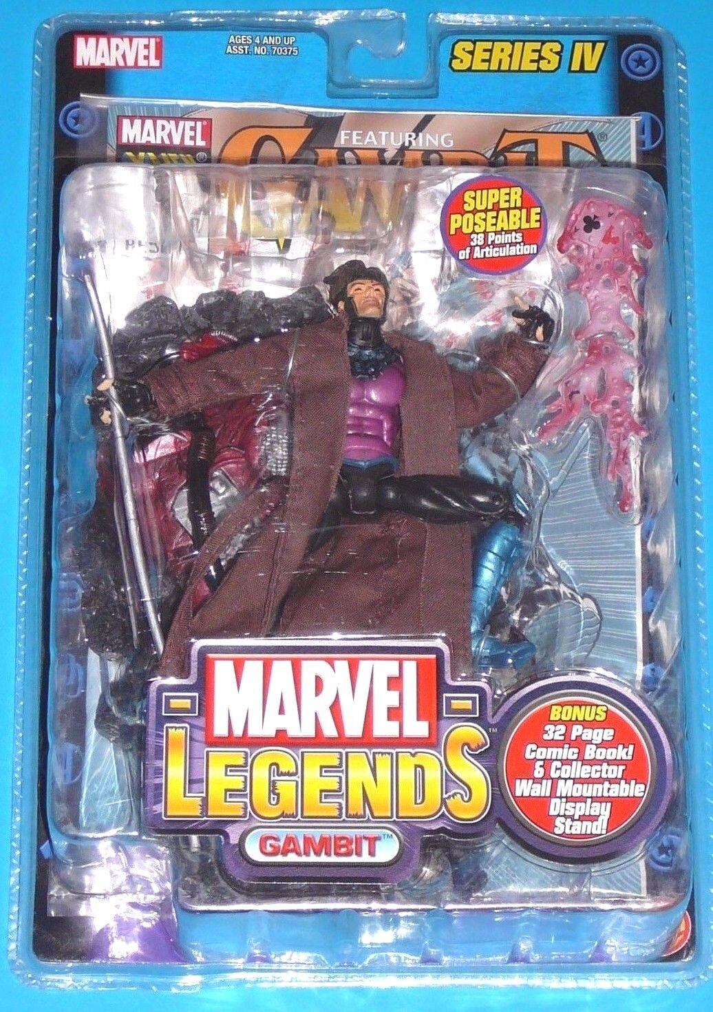 Marvel - legenden gambit serie iv (4) x - men neue 2003 toybiz gambit unheimlich, x - men -