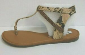 Steve-Madden-Size-8-Brown-Sandals-New-Womens-Shoes