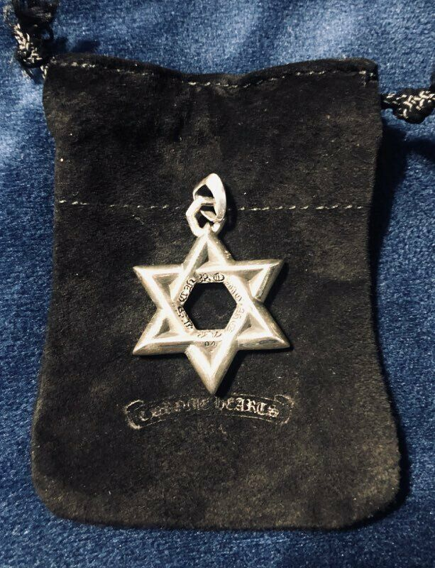 100% Authentic Chrome Hearts Star Pendant.