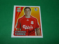 N°320 F. Torres Liverpool Reds Merlin Premier League Football 2007-2008 Panini