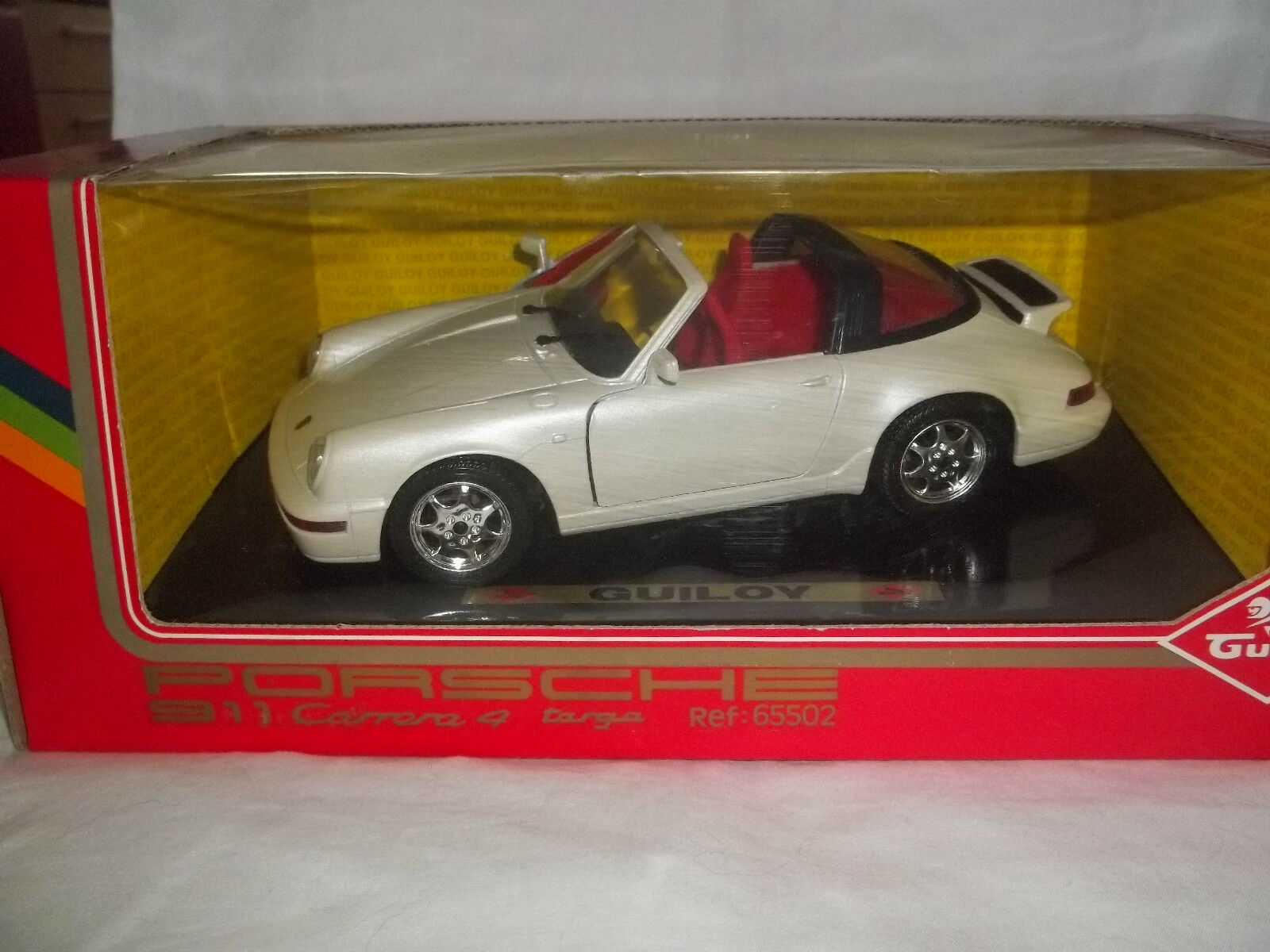 Guiloy 65502 Porsche 911 Carrera 4 Targa 1 20 Mint & Boxed