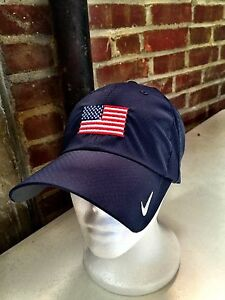 Nike hat with Embroidered American Flag USA Dry Fit  e77421d3e47