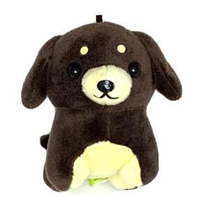 "Amuse Pocket Bow-Wow Dachshund Dog Keychain Plush 4"" | eBay"