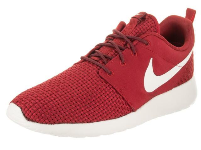 Men's Nike Roshe One SE Casual Shoes Bordeaux Red Grey Size 12 844687 604 | eBay