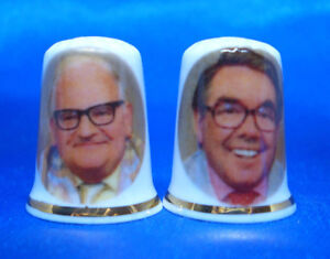 Free Dome Gift Boxes Morecambe and Wise Birchcroft  Thimbles Pair