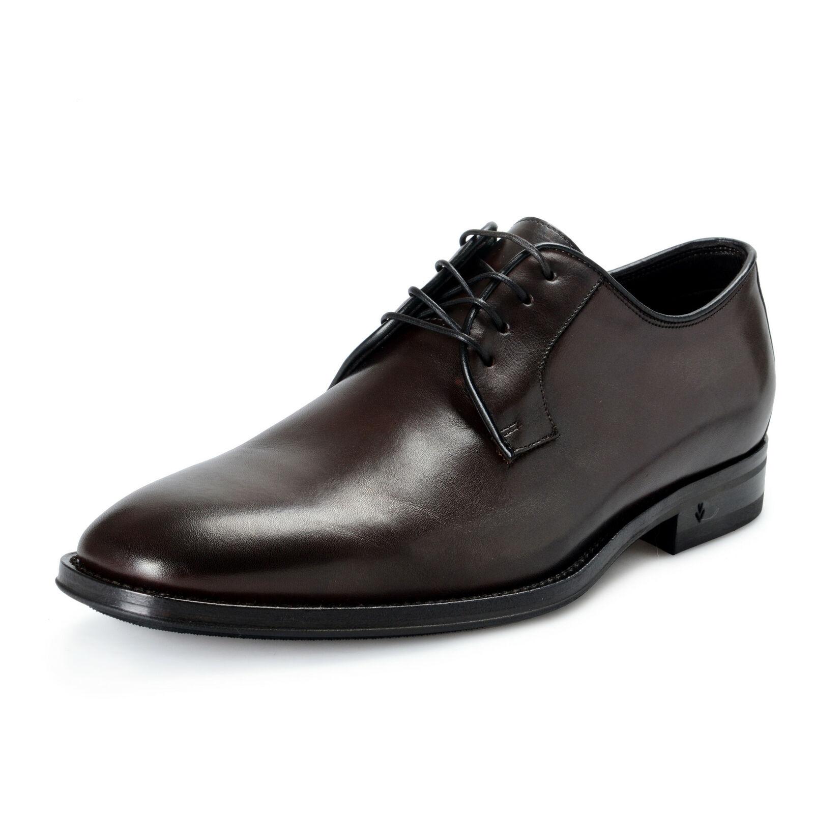 John Varvatos Herren Leder Reise Derby Oxford Schuh Kleid Schuhe US 8.5 It 41.5