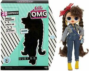 LOL-Surprise-OMG-Busy-BB-Girl-Fashion-Doll-with-20-Surprises