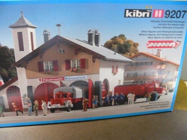 1 87 Kibri Feuerwehrhaus Schneuzelreuth Bausatz 9207