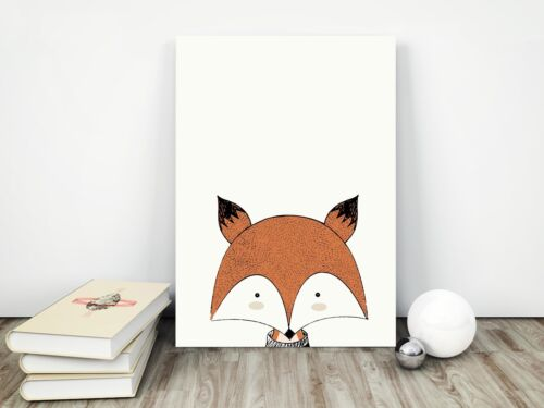 Peekaboo Animal Prints for Nursery Prints Set Baby Christening Bedroom Decor A3