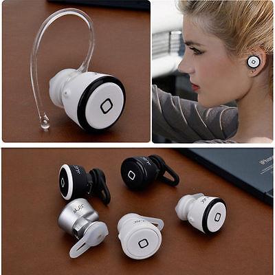 NEW Wireless Bluetooth Mini Headset Earphone Headphone For iPhone Tablet Samsung