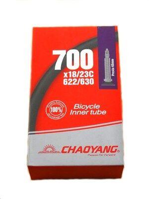 Bicycle Inner Tube 700 x 19-23 Sunlite 48mm Presta Valve Road fixie fix gear