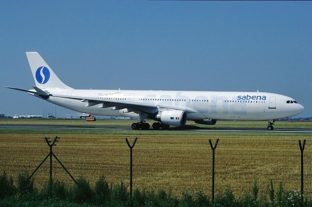 Inflight 200 IF343SB0119 1 200 Sabena Airbus A340-300 OO-scz con Soporte