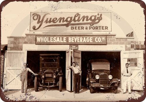 "1934 Yuengling/'s Beer PA Brewery Prohibition Vintage Retro Metal Sign 8/"" x 12/"""
