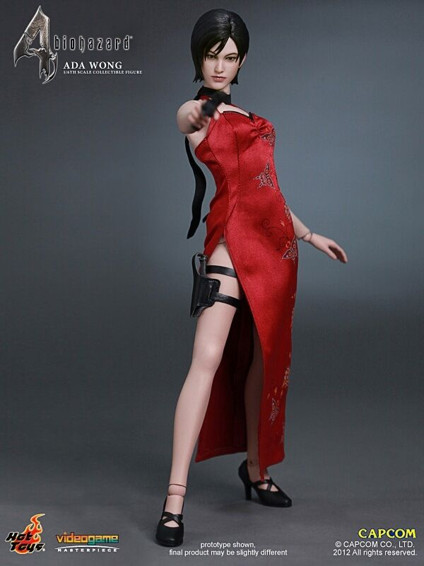 HotToys HT 1/6 Scale Resident Evil 4 Ada Wong 12