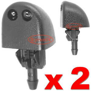 VAUXHALL-VIVARO-WINDSCREEN-WASHER-JETS-FRONT-WATER-NOZZLE-SPRAY-X-2
