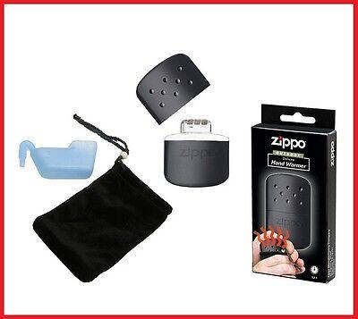 ZIPPO BLACK HAND WARMER 12HR BRAND NEW IN BOX **LOWEST UK SELLER**