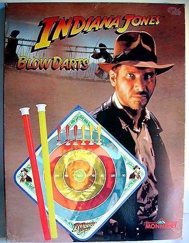 Indiana Jones - Jeu De Fléchettes - Monneret