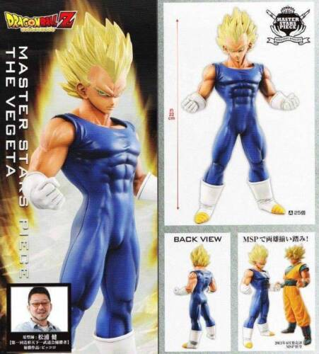 Banpresto Dragon Ball Z Master Stars Piece MSP Super Saiyan Vegeta Figure