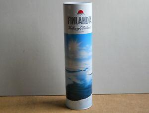 Finlandia Vodka Dose Blechdose Hülle Verpackung Desin Motiv limitiert 2007 - Deutschland - Finlandia Vodka Dose Blechdose Hülle Verpackung Desin Motiv limitiert 2007 - Deutschland