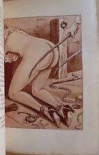 curiosa LA VOLUPTÉ DU FOUET illust. érotiques de Le Rallic EO 1938 erotica