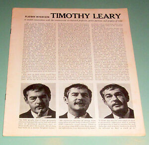 TIMOTHY LEARY 1966 PLAYBOY INTERVIEW PSYCHEDELIC APHRODISIAC LSD SEXUAL UNION