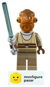 sw226 Lego Star Wars 8095 - Nahdar Vebb Minifigure with Lightsabers - New