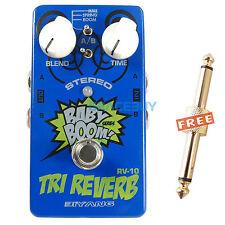 BIYANG Babyboom True Bypass 6 Reverb Models Guitar Effect Pedal TRI Setero New