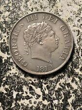 1819 Great Britain 1/2 Half Crown Lot#A236 Silver! Nice!