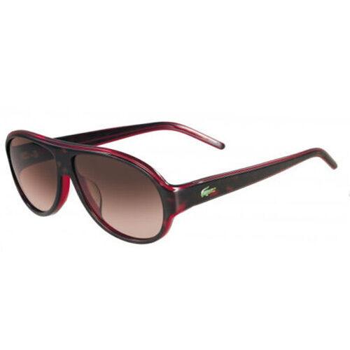 e724d3e381c Lacoste Sunglasses L644s 214 Havana   Red 59mm for sale online