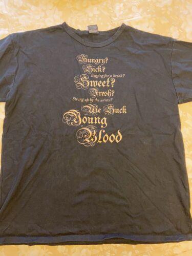Radiohead Graphic Shirt Sz L
