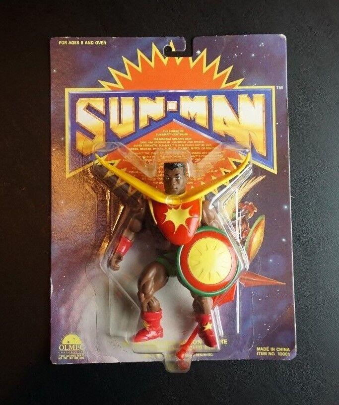 descuentos y mas Sun-Man Sun-Man Sun-Man Olmeca 1985 rebaja Amos del universo He-man gobernantes del sol Raro MOC  la mejor oferta de tienda online