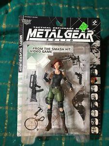 McFarlane Toys Metal Gear Solid Meryl Silverburgh Action Figure