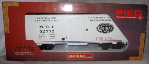 PIKO 38810 NY Central Steel Reefer Merchants Dispatch G Scale NIB