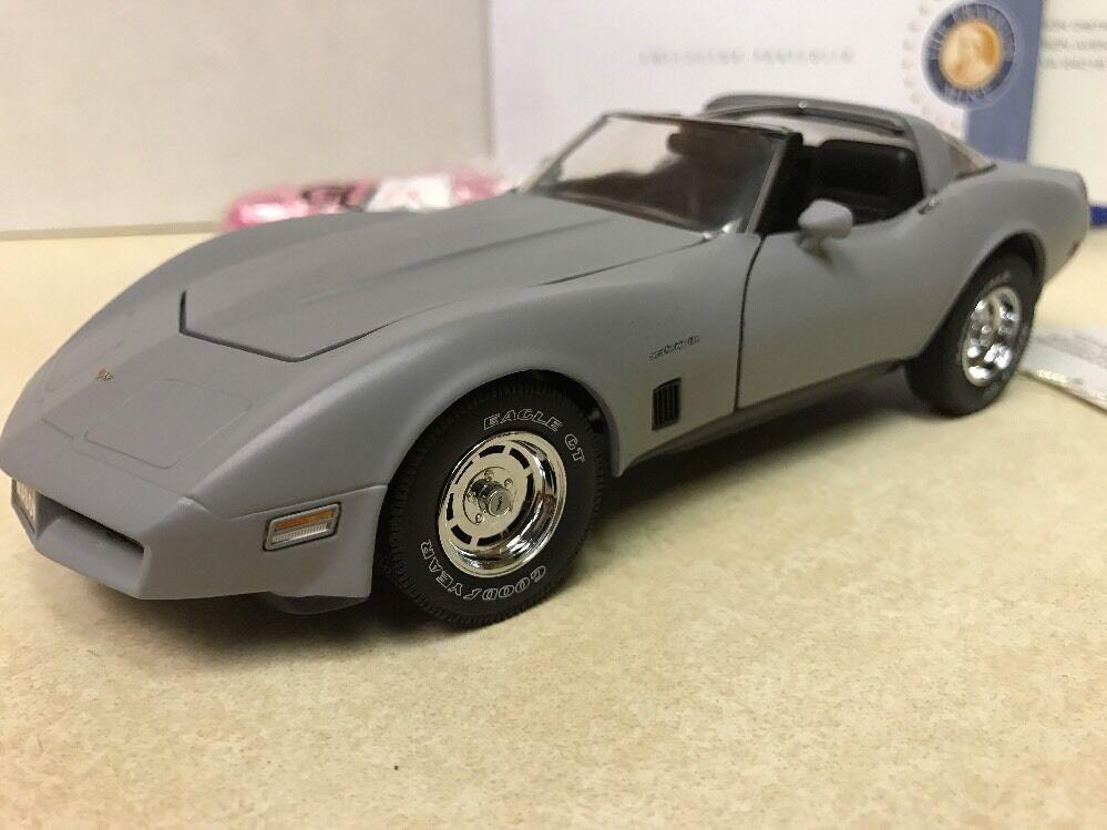 RARE 124 Franklin Nuovo di zecca PRIMER 1982 Corvette ttops S13E428 1 del 9