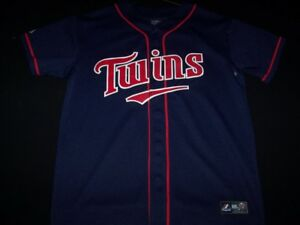 dcdf10eca Image is loading Minnesota-Twins-Majestic-7-Mauer-MLB-Baseball-Jersey-