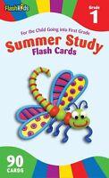 Summer Study Flash Cards: Grade 1 (flash Kids Summer Study) (cards) By Flash Kid
