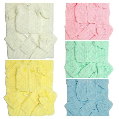 Crochet Baby Blanket and Hat Newborn Outfit Set Booties Pants Sweater Girl Boy