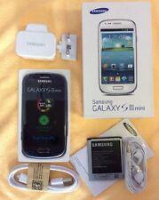 Brand New Samsung Galaxy S3 SIII Mini GT-I8190N 8GB Blue Unlocked/sim Free