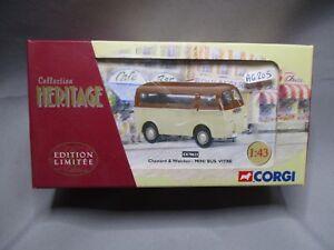 AG205-CORGI-HERITAGE-1-43-CHENARD-WALCKER-MINI-BUS-VITRE-EX70623-Ed-Lim-2400ex