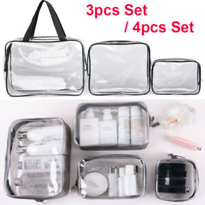 Set-S-XL-Clear-Transparent-PVC-Travel-Cosmetic-Make-Up-Toiletry-Zipper-Bag-Pouch