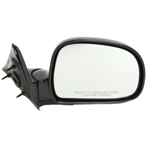 GMC Sonoma 1994-2004 New Set of 2 Manual Operate Door Mirror for Chevrolet S10