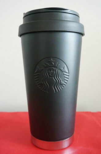 Starbucks Korea 2016 limited edition SS Siren Black Matt Elma Tumbler+Tracking