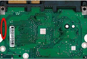 PCB-Scheda-Board-Elettronica-Maxtor-DiamondMax-22-100466725-500GB