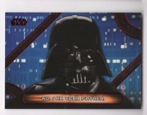2017 Star Wars Galactic Files Reborn Quotes MQ-12 NO. I am your father RED 1/1