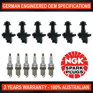 6x-Genuine-NGK-Platinum-Spark-Plugs-amp-6x-Ignition-Coil-for-Nissan-StageA-Skyline