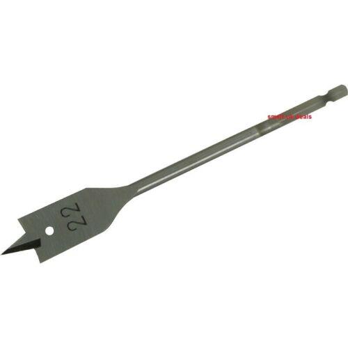 Brand NEW Flat Wood Drill Bit 22 mm DIY Wood Work Power Tools Heavy Duty