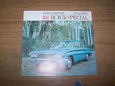 1961 Buick Special Neu Auto Prospekt