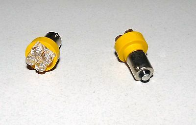1.8mm Miniature Waterclear LED Yellow Pack of 10