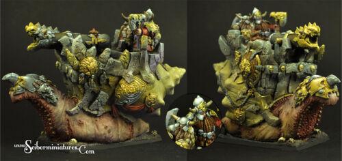 Scibor Miniatures Evil Dwarves Snail Cannon